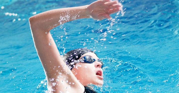 Cu nto mide la piscina corta o semiol mpica saberia for Piscina de natacion